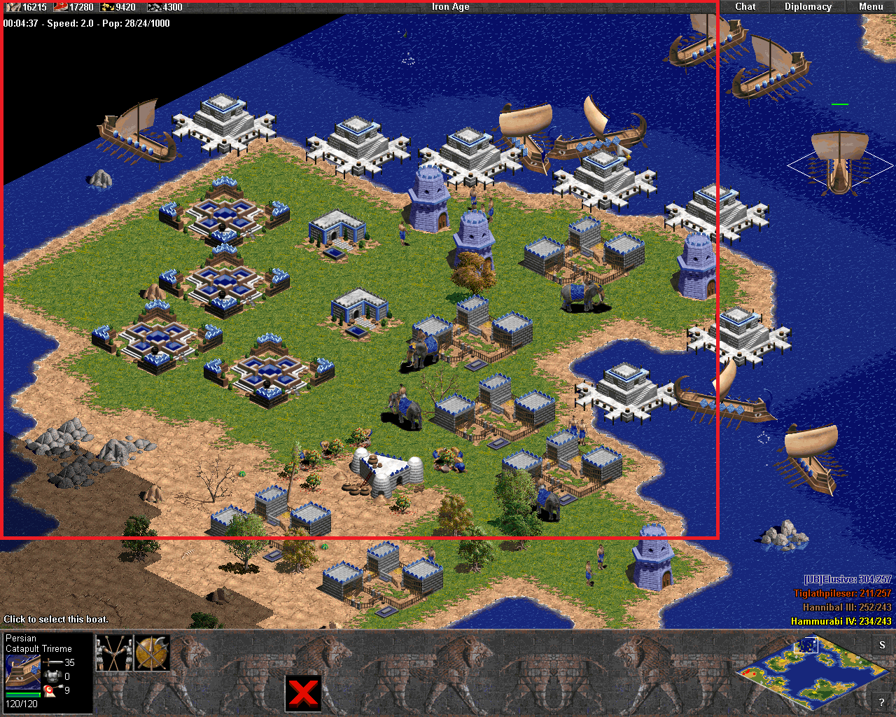 Age of Empires II - Un patch pour jouer