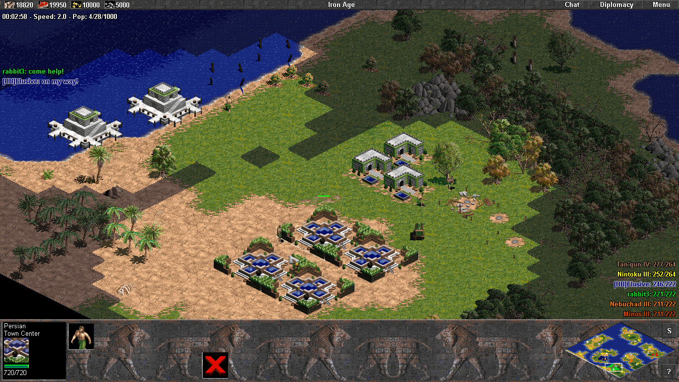 With Age of Empires HD